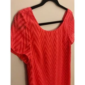 Sugarlips Businesses Casual Coral Shift !! 😻😻